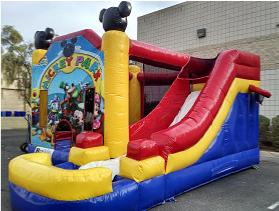 Mickey Mouse Combo Inflatable Rental