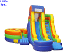 Inflatable Waterslides, Water Slides, Inflatable Slides, Bouncy Slides, Gilbert, Mesa, Chandler, Tempe, Scottsdale, Phoenix, Queen Creek, Higley, AZ, Arizona