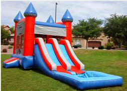 Double Wet Slide Combo Rentals Arizona