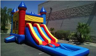 Double Wet Slide Combo Rental Arizona