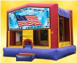 Flag Bouncy Castle Rental AZ