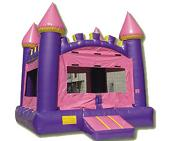 Pink Castle Bounce Rental AZ