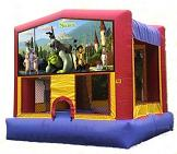 Shrek Bouncy Castle Rental AZ